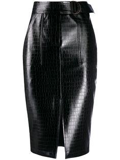 LIU JO юбка из искусственной кожи