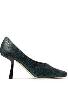 Jimmy Choo туфли-лодочки Marcela 85 с тиснением под кожу змеи