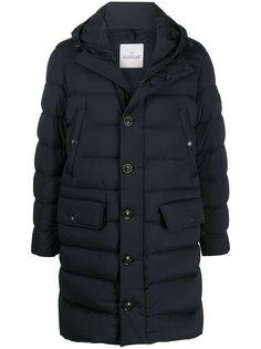 Moncler удлиненное пальто-пуховик Dartmoor