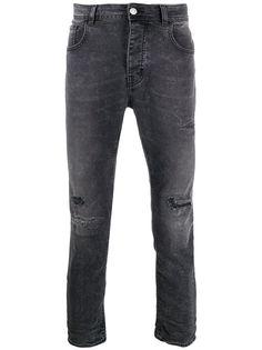 Haikure джинсы прямого кроя с эффектом потертости