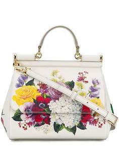 Dolce & Gabbana сумка Sicily с цветочным принтом