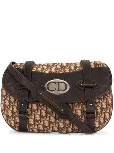 Christian Dior сумка через плечо Traveler pre-owned с узором Trotter