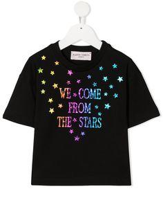 Alberta Ferretti Kids футболка с надписью