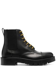 Salvatore Ferragamo ботинки на шнуровке