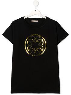ELIE SAAB JUNIOR футболка с принтом