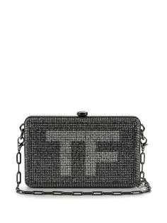 Tom Ford Vintage клатч с кристаллами и логотипом