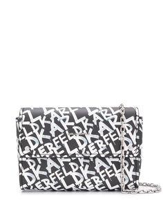 Karl Lagerfeld клатч с логотипом