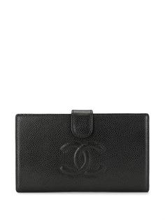 Chanel Pre-Owned бумажник 2008-го года с логотипом CC