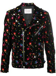 Route Des Garden бархатная байкерская куртка