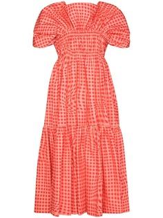 Molly Goddard платье миди Bo Brigham из коллаборации с Browns 50
