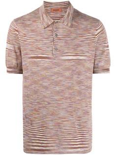 Missoni полосатая рубашка поло
