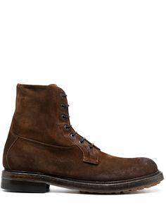 Silvano Sassetti ботинки на шнуровке