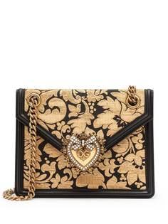 Dolce & Gabbana сумка через плечо Devotion среднего размера