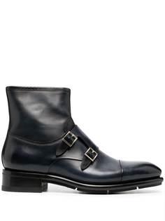 Santoni ботинки с пряжками