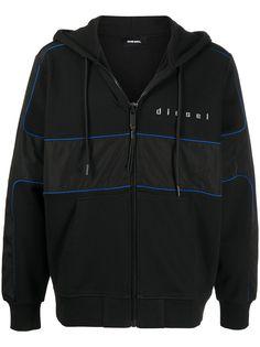 Diesel куртка на молнии с логотипом