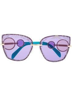 Emilio Pucci солнцезащитные очки в оправе бабочка