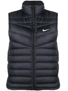 Nike дутый жилет на молнии