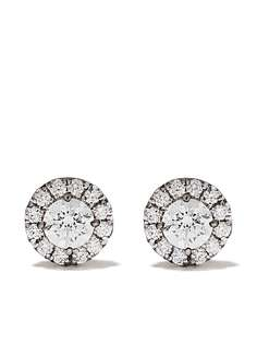 Suzanne Kalan серьги-гвоздики из белого золота с бриллиантами