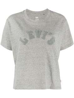 Levis футболка с логотипом Varsity