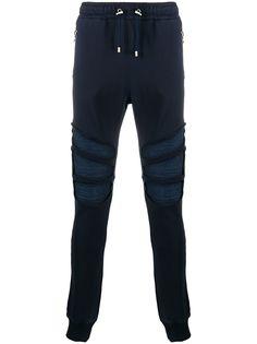 Balmain спортивные брюки со вставками на коленях