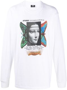 Stussy футболка Metamorphis с графичным принтом