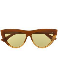 Bottega Veneta Eyewear солнцезащитные очки в оправе кошачий глаз