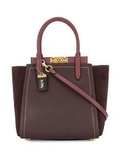 Coach сумка-тоут Troupe в стиле колор-блок