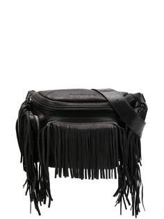 Dsquared2 поясная сумка на молнии с бахромой