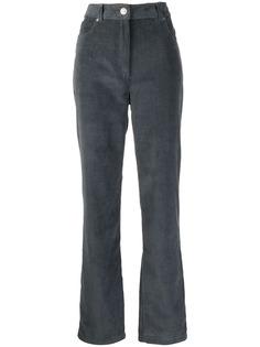 Kenzo вельветовые брюки с завышенной талией