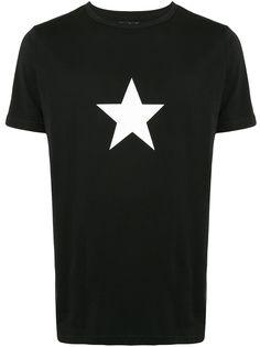 agnès b. футболка с принтом