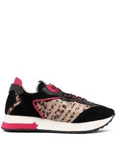 ASH кроссовки Tiger с леопардовым принтом