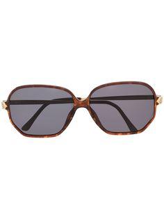 Dior Eyewear солнцезащитные очки 2713 в массивной оправе