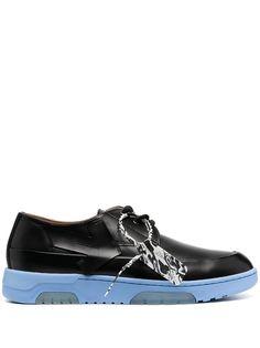 Off-White кроссовки с контрастными вставками