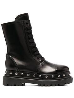 Casadei ботинки с заклепками