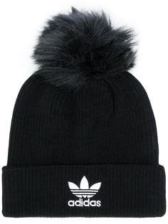 adidas вязаная шапка бини