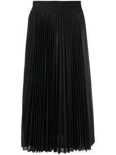LIU JO плиссированная юбка миди