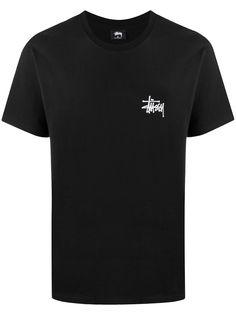 Stussy футболка с короткими рукавами и логотипом