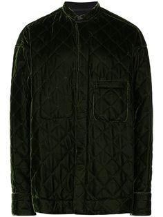 Haider Ackermann стеганая бархатная куртка