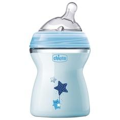 Бутылочка Chicco Natural Feeling с силиконовой соской, полипропилен, с 2 мес, 250 мл