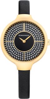 Женские часы в коллекции Giselle Женские часы Romanson RL0B13LLG(BK)