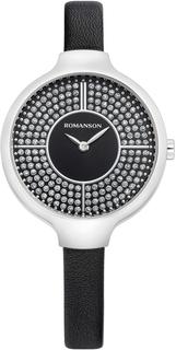 Женские часы в коллекции Giselle Женские часы Romanson RL0B13LLW(BK)