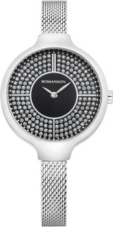 Женские часы в коллекции Giselle Женские часы Romanson RM0B13LLW(BK)