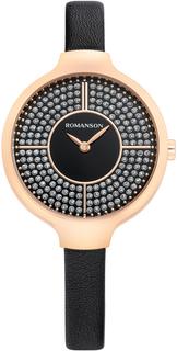 Женские часы в коллекции Giselle Женские часы Romanson RL0B13LLR(BK)