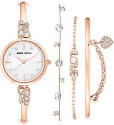 Женские часы в коллекции Box Set Женские часы Anne Klein 3430RGST