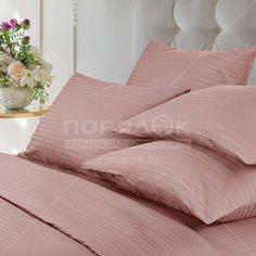 Постельное белье Verossa евро сатин (простыня 220х240 см, 2 наволочки 50х70 см, 2 наволочки 70х70 см, пододеяльник 200х220 см) розовый 747375