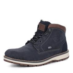 Ботинки Синие ботинки из комбинированных материалов Rieker