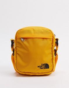 Желтая сумка-трансформер на плечо The North Face-Желтый