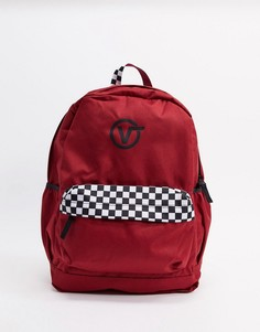 Красный рюкзак Vans sporty realm plus