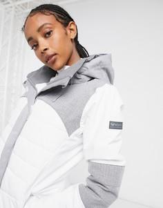 Белая горнолыжнаякуртка Roxy Dakota-Белый