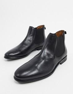 Черные кожаные ботинки челси ALDO wadda-Черный